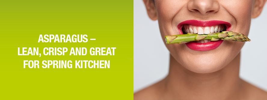 Asparagus - RICH IN NUTRITIENTS, LOW IN CALORIES