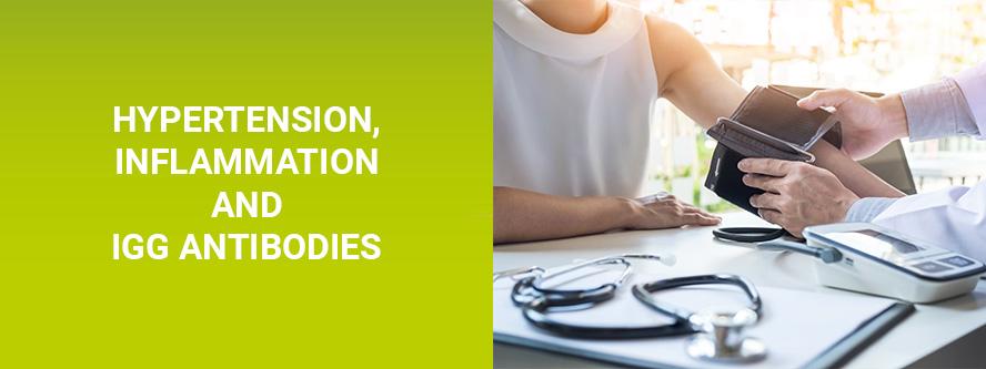 Hypertension Inflammation IgG Antibodies