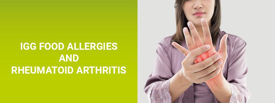 RA Rheumatic diseases and food allergy