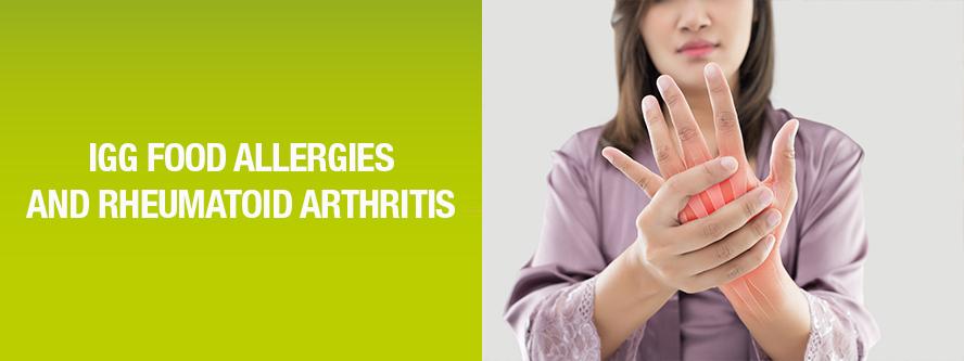 RA (Rheumatoid Arthritis) and IgG food allergy