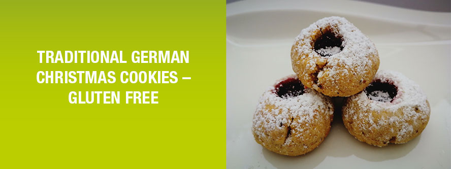 Traditional German Christmas cookies - Gluten free