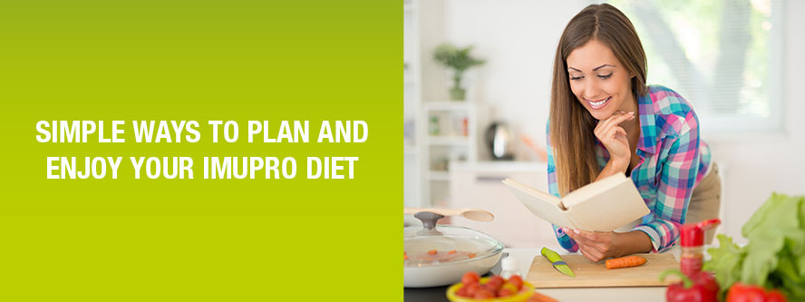 Simple Ways to Plan, Enjoy and Stick to your ImuPro Diet
