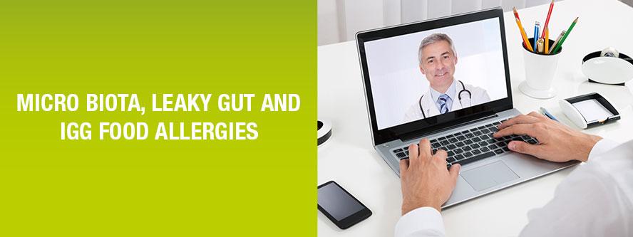 Microbiota Leaky Gut IgG food allergy